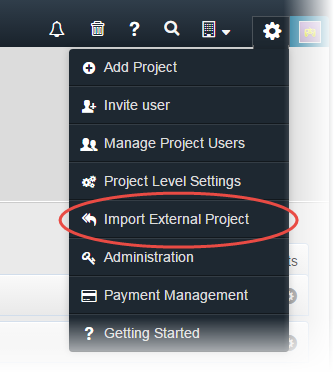 import-external-project-from-csv