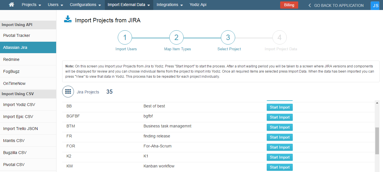 Select-Projects-From-Jira