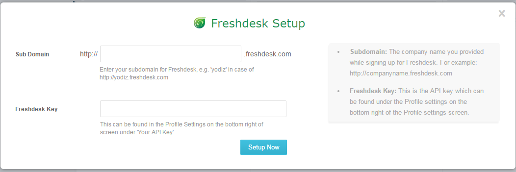 freshdesk-account-setup