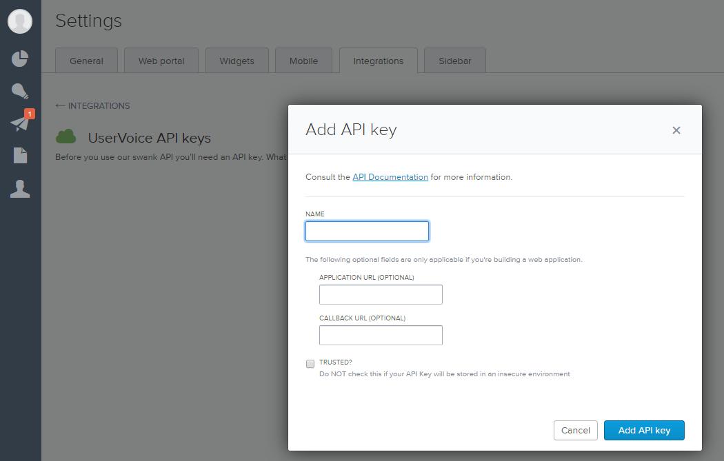 uservoice-add-api-key