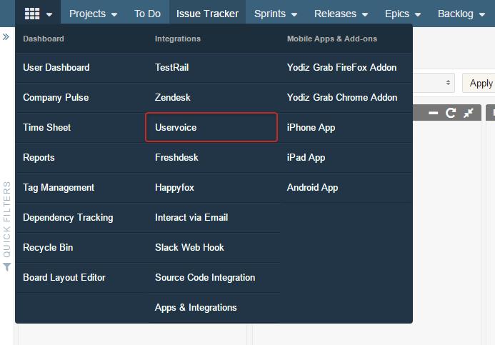 uservoice-via-grid-menu