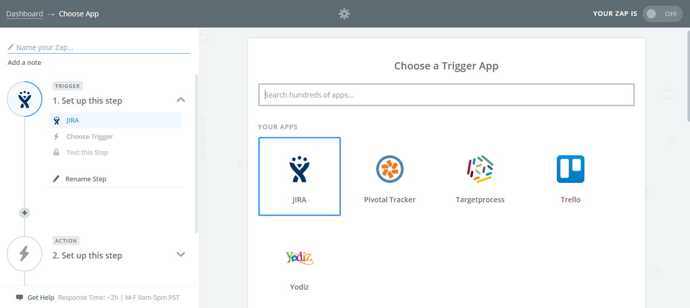 Choose-Trigger-App-Jira