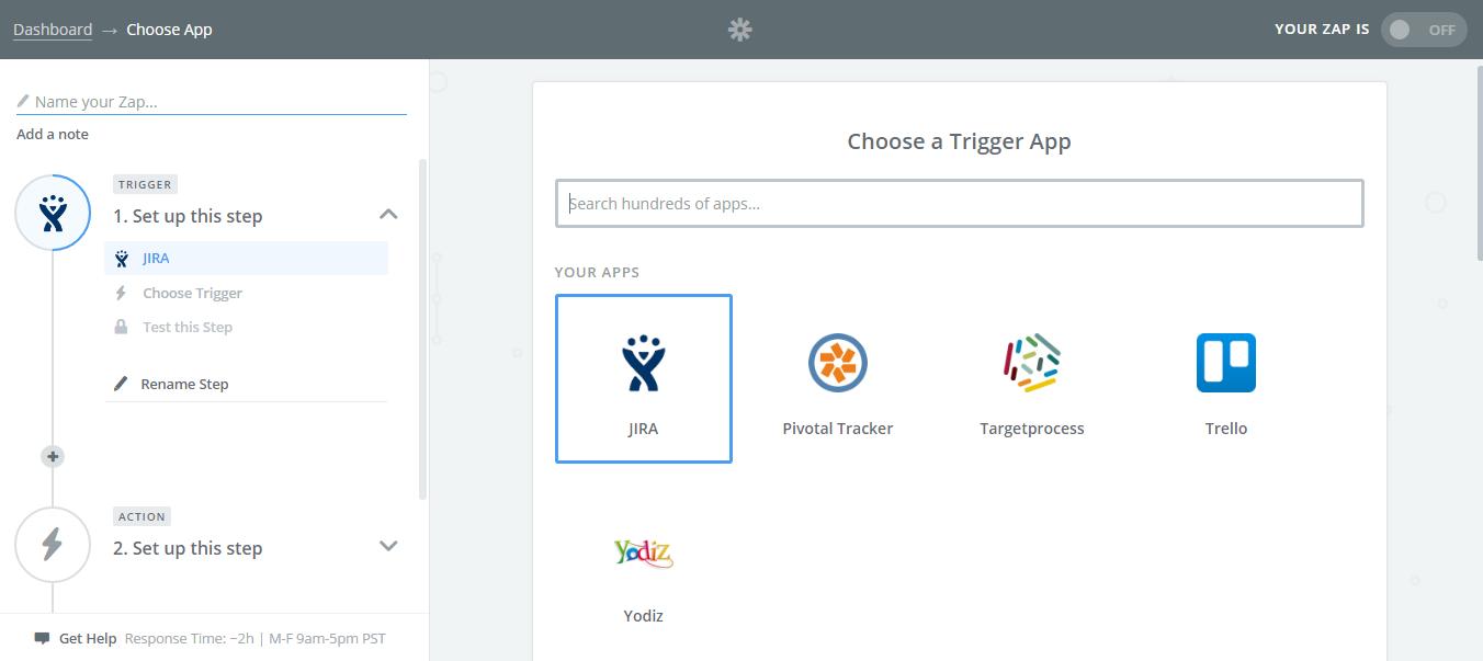 Choose-Trigger-App-Jira