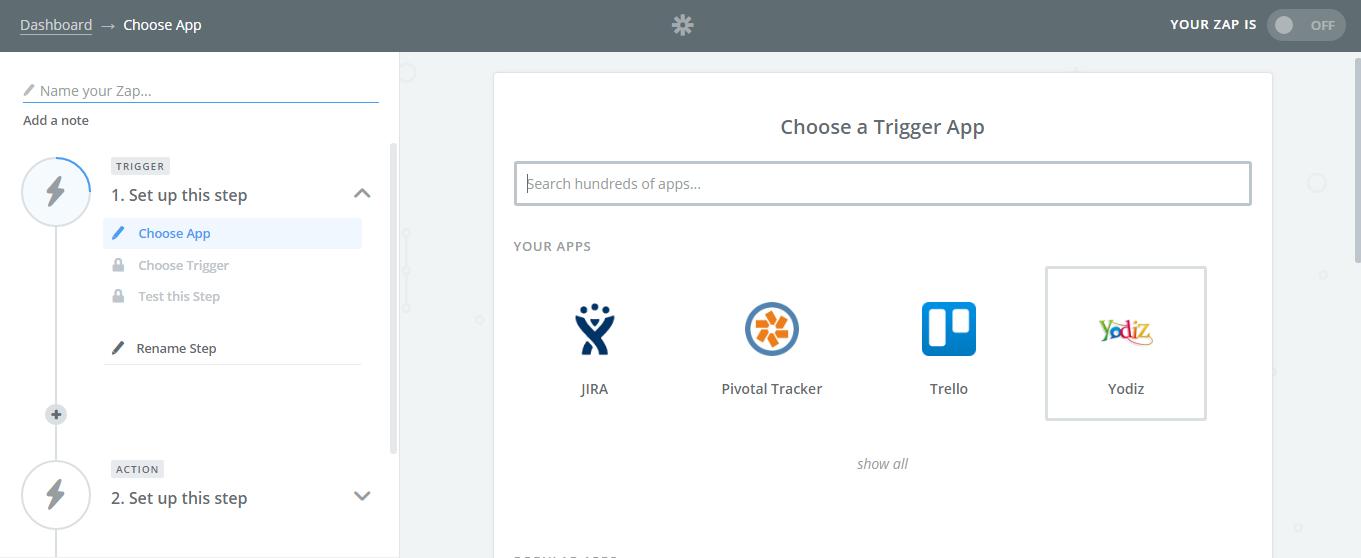 Choose-Trigger-App