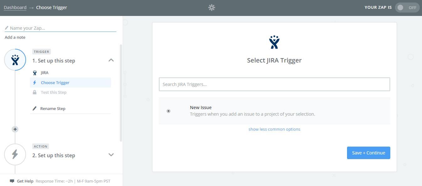 Select-Jira-Trigger