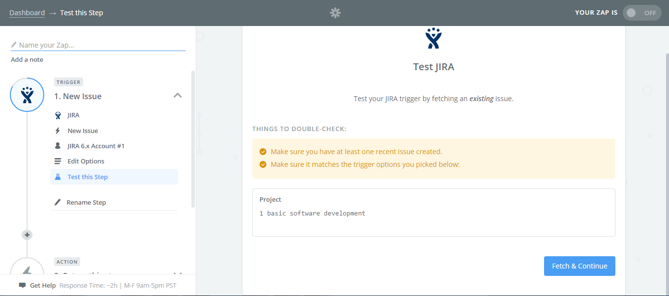 Select-the-Project-Test-Jira