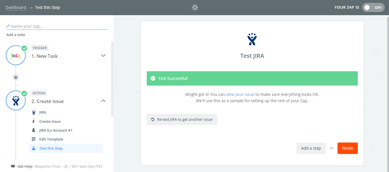 Test-Jira-Finish