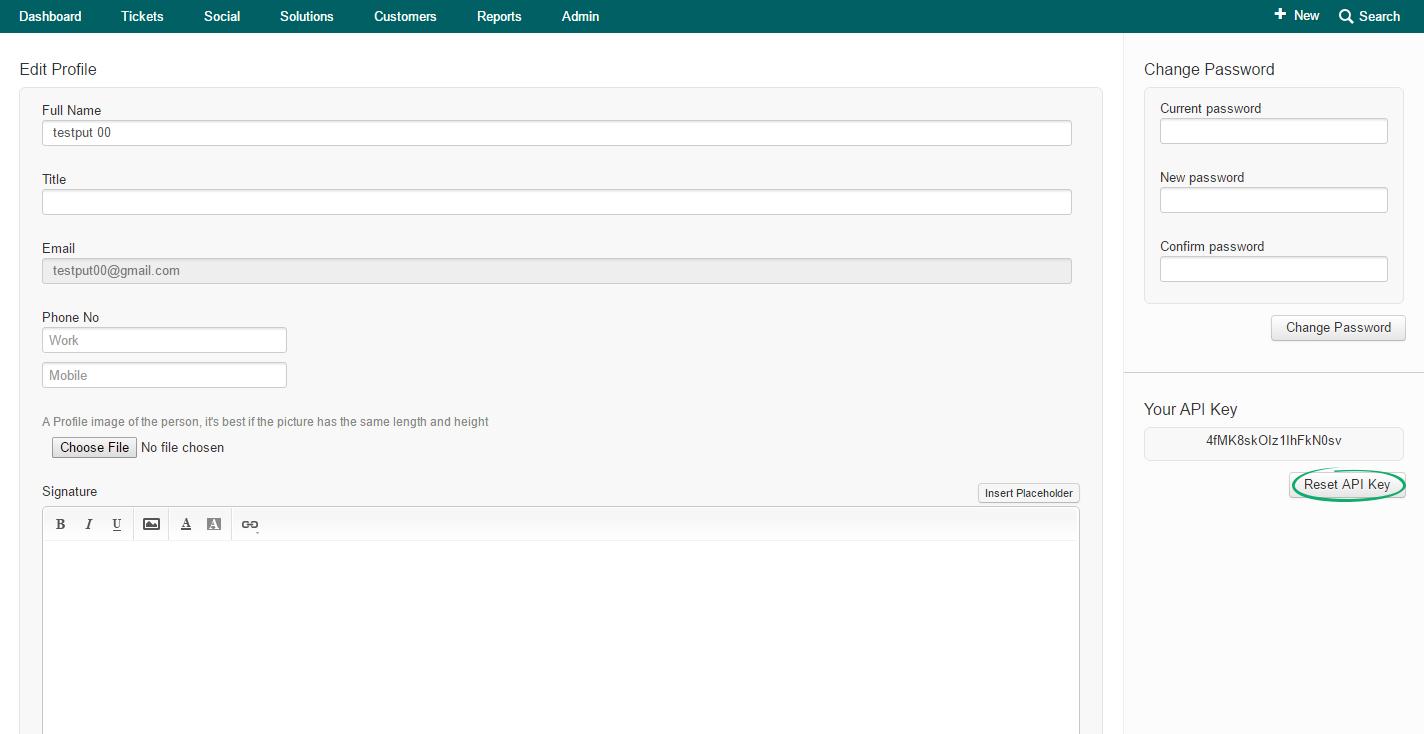 Freshdesk-API