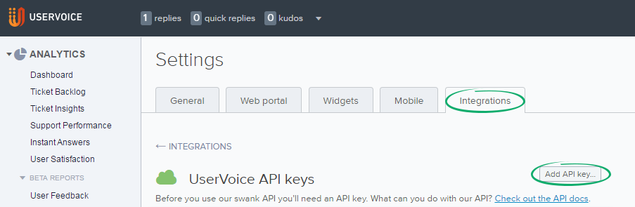 User-Voice-Add-API-key-button