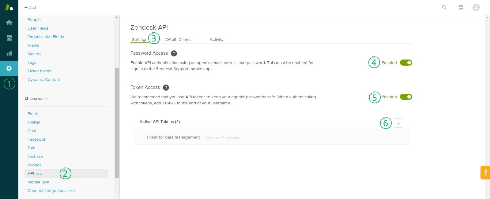 Zendesk-API-Access