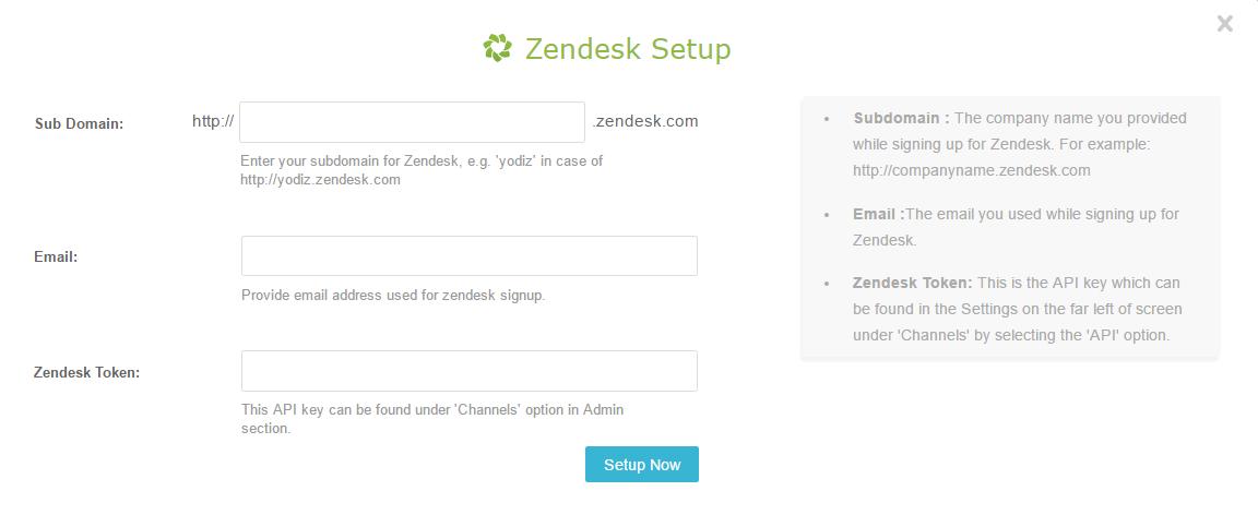 Zendesk-log-in-pop-up