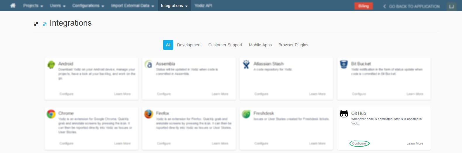 How to integrate GitHub webhook with Yodiz – Agile