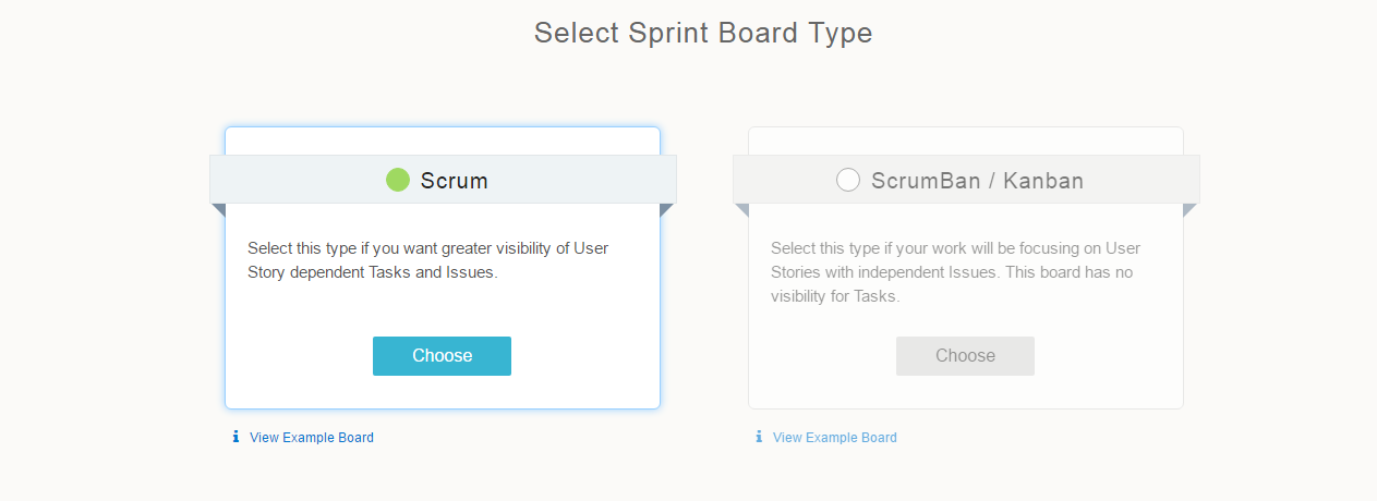 Select-sprint-board-type