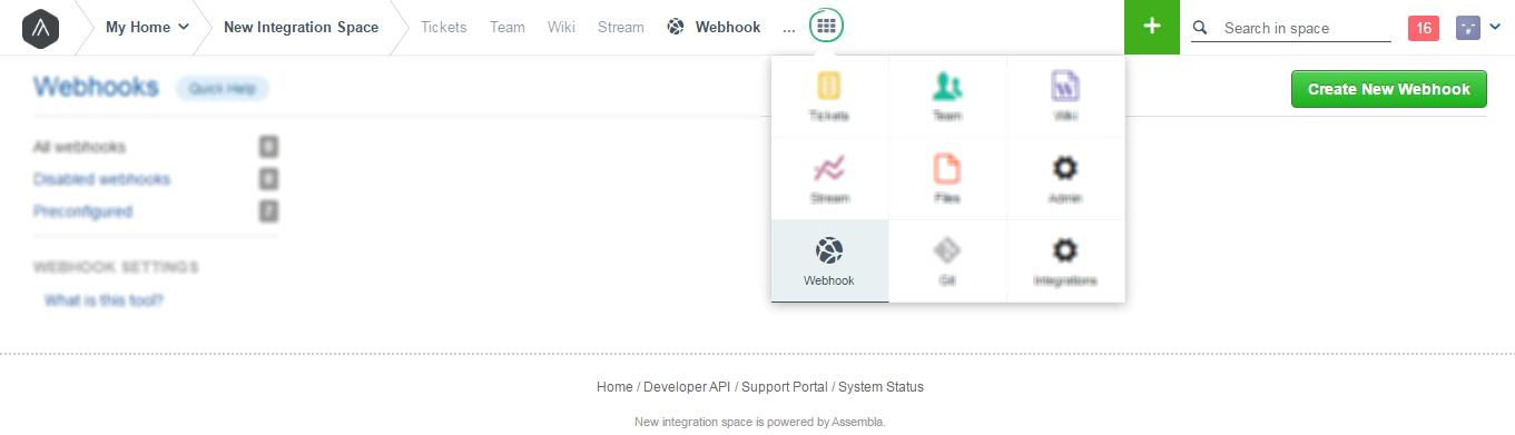 assembla-webhook-Integration
