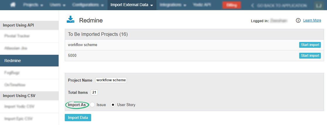 Import-Redmine-Data-in-Yodiz