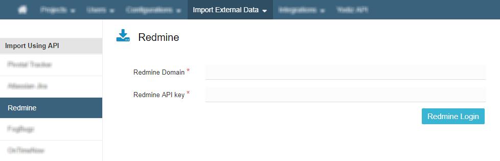 Import Redmine Data in Yodiz – Agile development , Project