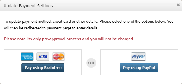 Update-Payment-Setting