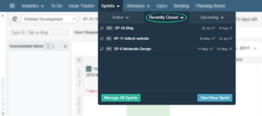How can I reopen a Sprint? – Agile development , Project