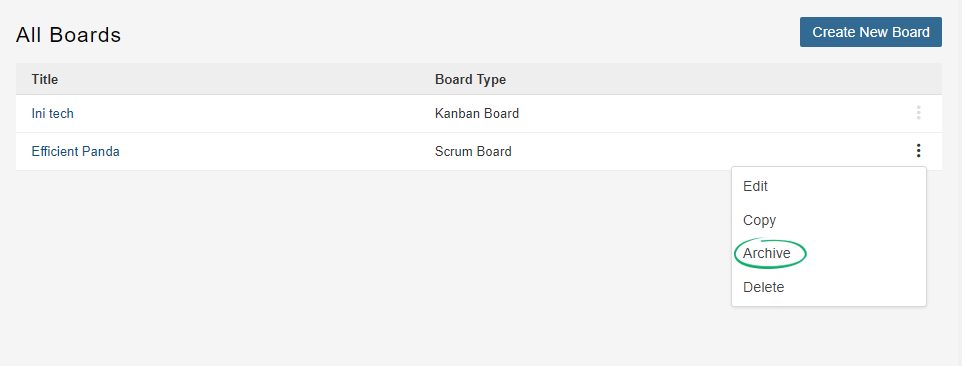 Archive-Board