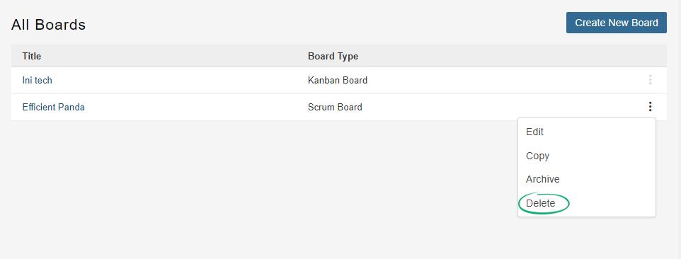Delete-Board