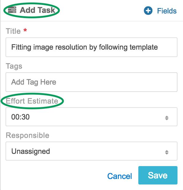 accumulative effort per user