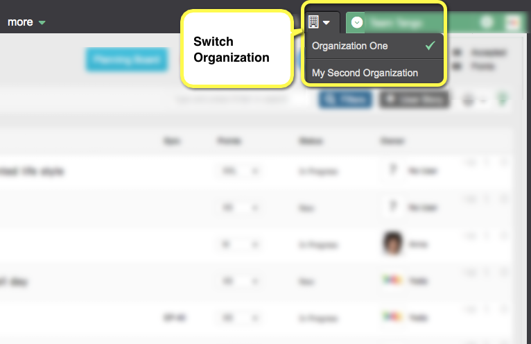 switch-organization-at-yodiz