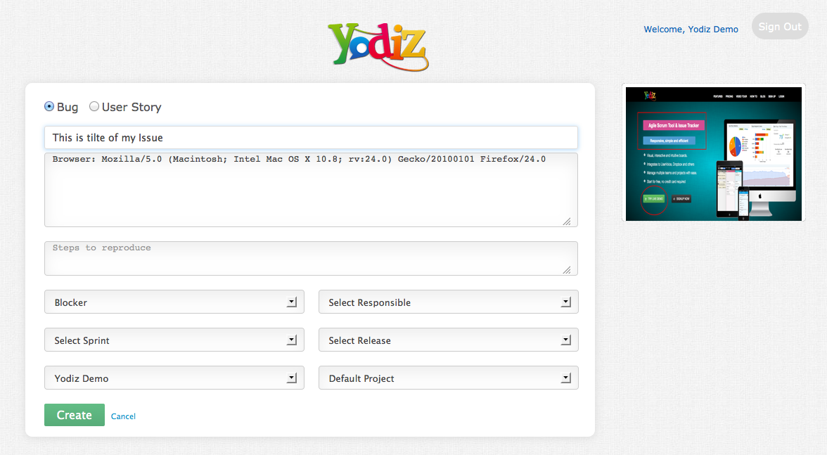 yodiz-grab-bug-reporting