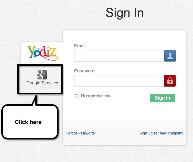 yodiz-associate-google-apps-account