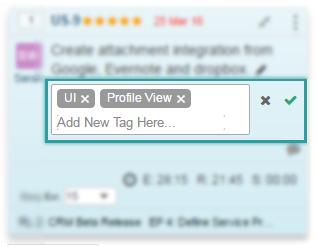 Tag view