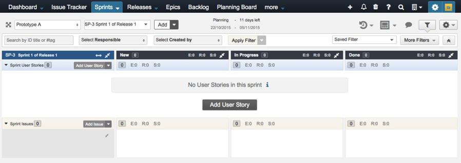 Adding user story in sprint